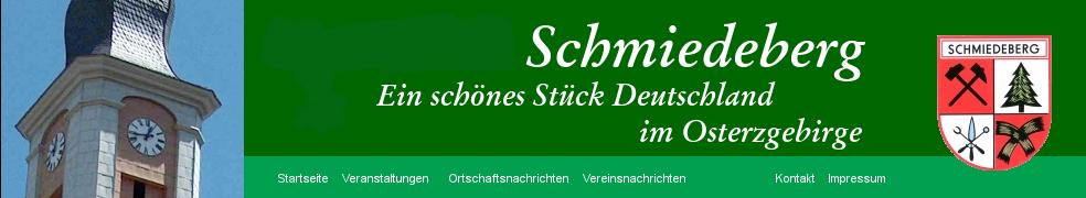 Ihre Gemeinde Schmiedeberg im Erzgebirge